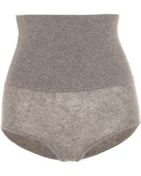 Khaite Shorts Belinda - Natur