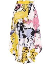 Stella McCartney Jupe Jacey - Multicolore