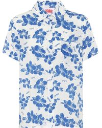 Solid & Striped Bedrucktes Hemd Cabana - Weiß