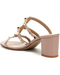 Valentino Garavani Valentino garavani sandalen rockstud aus leder - Pink