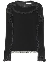See By Chloé Ruffled Top - Black