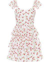 Caroline Constas Minikleid Keros aus Baumwolle - Weiß
