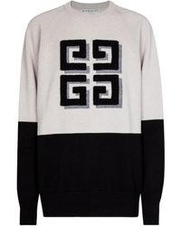 Givenchy Pull 4G en cachemire - Noir