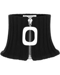 JW Anderson Wool Collar - Black