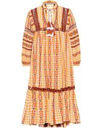 Dodo Bar Or Elena Flared Dress - Yellow