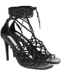 Stella McCartney Faux Leather Sandals - Black