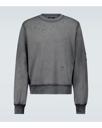 Amiri Sweatshirt aus Baumwolle - Schwarz