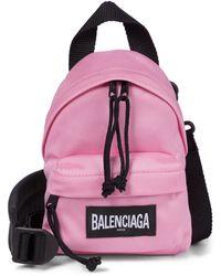 Balenciaga Mini-Rucksack - Pink