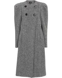 Isabel Marant - Fezio Wool-blend Coat - Lyst