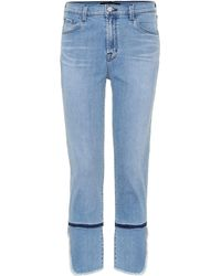 J Brand - Cropped Jeans Ruby - Lyst