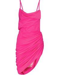 Jacquemus Exklusiv bei Mytheresa – Minikleid La Robe Saudade - Pink