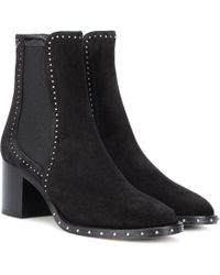 Jimmy Choo - Merril 65 Suede Ankle Boots - Lyst