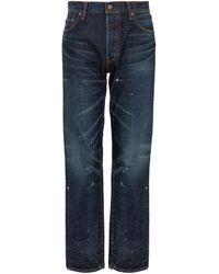 Visvim Social Sculpture 03 Dmgd-26 Jeans - Blue