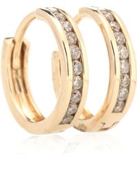 Anna Sheffield - Licol 14kt Gold And Diamonds Earrings - Lyst