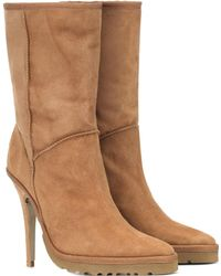 Y. Project X UGG Ls1 Suede Ankle Boots - Natural