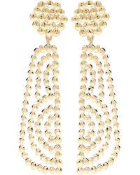 Chloé Valeria Drop Earrings - Metallic