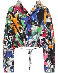 Marni Chaqueta de algodón floral - Multicolor