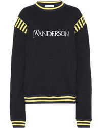 JW Anderson Sweatshirt aus Baumwolle - Schwarz