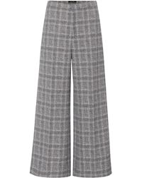 Isabel Marant Trevi Prince Of Wales Trousers - Blue