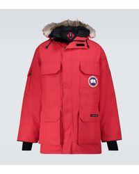 Canada Goose Expedition Mäntel - Rot