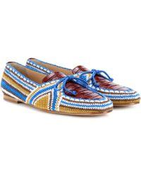 Gabriela Hearst - Hays Crocheted Loafers - Lyst