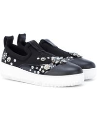 McQ - Netil Embellished Trainers - Lyst