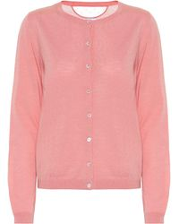 RED Valentino Wool And Silk Cardigan - Pink