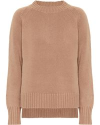 Max Mara Modena Wool And Cashmere Jumper - Natural