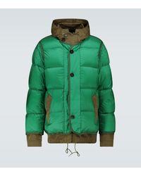 Sacai Ten C Nylon Padded Jacket - Green
