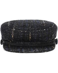Maison Michel New Abby Tweed Hat - Multicolour