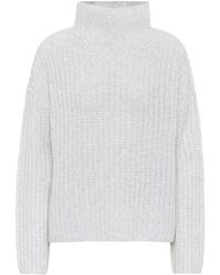 Vince Wool And Cashmere-blend Sweater - Gray
