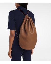 The Row Massimo Leather Backpack - Multicolor