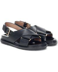 Marni - Sandales en cuir - Lyst