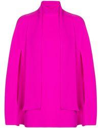 Valentino Top aus Seide - Pink