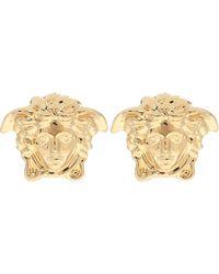 Versace Medusa Gold-plated Earrings - Metallic