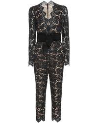 Stella McCartney Lace Jumpsuit - Black
