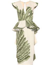 Johanna Ortiz Natural Listic Cotton Dress - White