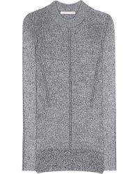 Christopher Kane - Metallic Knitted Sweater - Lyst