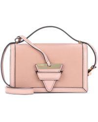 Loewe | Barcelona Small Leather Shoulder Bag | Lyst