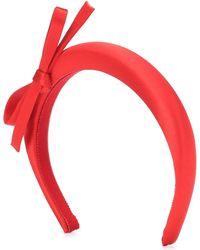Prada Haarreif aus Satin - Rot
