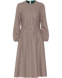 Rochas - Robe en laine mélangée - Lyst