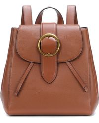 Polo Ralph Lauren - Large Belt Leather Backpack - Lyst