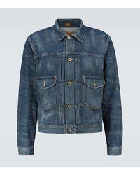 RRL Chaqueta de jeans - Azul