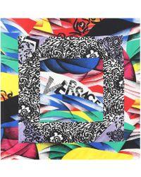 Versace - Exclusivité Mytheresa - Foulard en soie imprimée - Lyst 9923446fcce