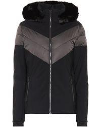 Fusalp Anne Faux Fur-trimmed Ski Jacket - Black