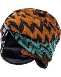 Missoni Turbante in maglia - Multicolore