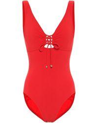 Karla Colletto Ventura Swimsuit - Red