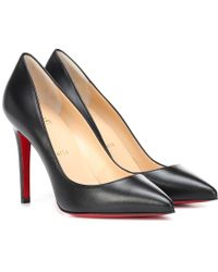 Christian Louboutin Pumps Pigalle 100 in pelle - Nero