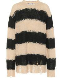 Acne Studios Oversized Striped Sweater - Multicolor