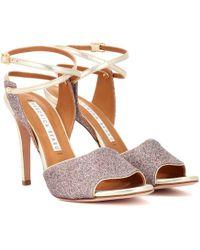 Veronica Beard Glitter Sandals - Multicolour
